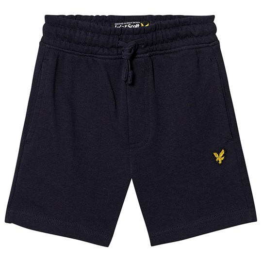 Lyle & Scott Logo Sweat Shorts Navy 203