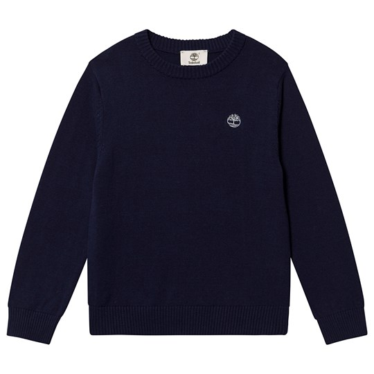Timberland Knit Jumper Navy 85T