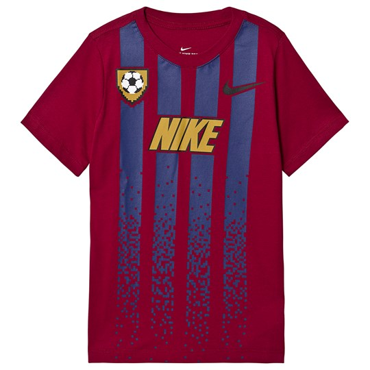 NIKE Red Soccer Branded Tee 620