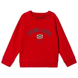 Image of Henri Lloyd Logo Sweatshirt Red 8-9 years (1374277)