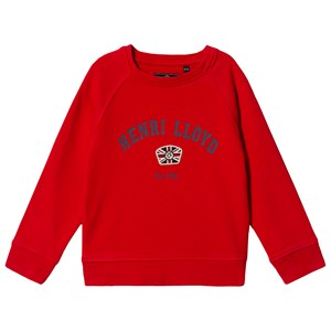 Henri Lloyd Logo Sweatshirt Red 7-8 years