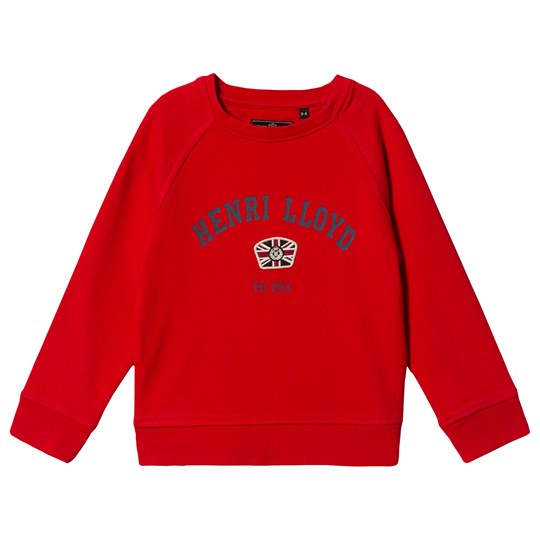 Henri Lloyd Logo Sweatshirt Red 586