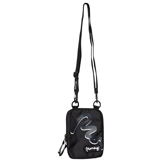 Money Black Big Signature Travel Bag 023