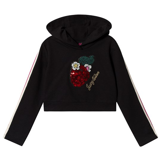 Juicy Couture Berry Hoodie Black 102