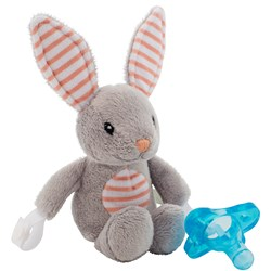 Dr. Brown's Lovey Pacifier and Teether Holder Billy the Bunny