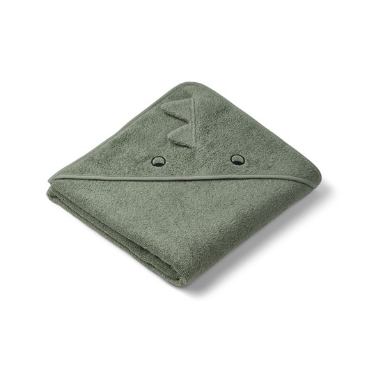 Liewood Augusta Hooded Towel Dino/Faune Green Faune green