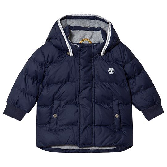 Timberland Water Repellent Puffer Jacket Navy 85T