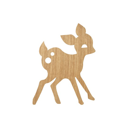 ferm LIVING My Deer Lamp - Oiled Oak Oiled Oak
