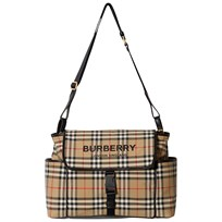 9857d47f36d82 Burberry Check Changing Bag Archive Beige A7026