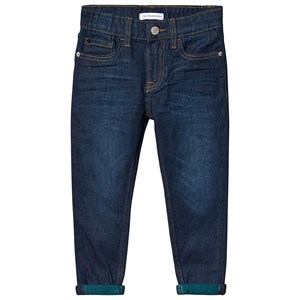 Image of Calvin Klein Jeans Mid Wash Tapered Stretch Jeans 10 years (1373444)