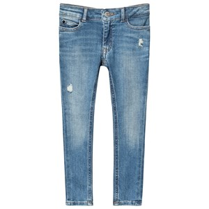 Image of Calvin Klein Jeans Mid Blue Stretch Skinny Jeans 14 years (1373565)