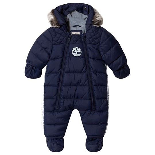 Timberland Snowsuit with Mittens and Booties Navy 85T