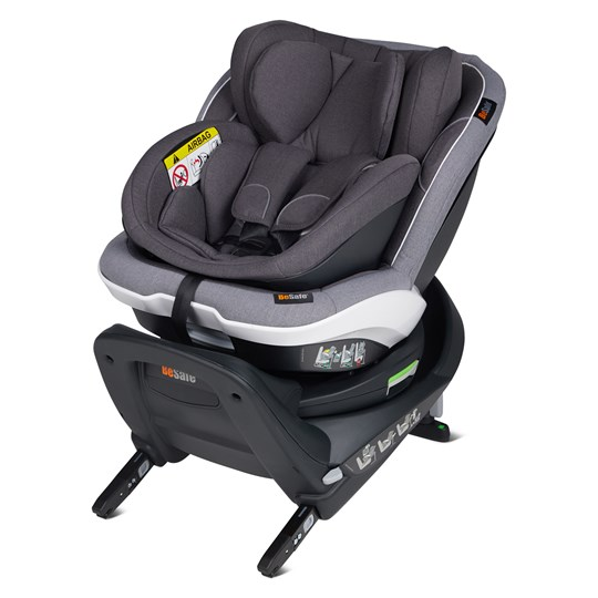 Be Safe iZi Twist B i-Size Car Seat Metallic Melange Metallic Mélange