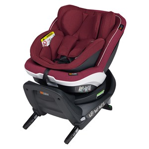 Bilde av Be Safe Izi Twist B I-size Car Seat Burgundy Melange One Size