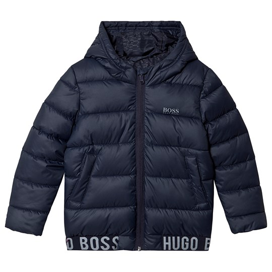 BOSS Water Repellent Puffer Jacket Navy 849