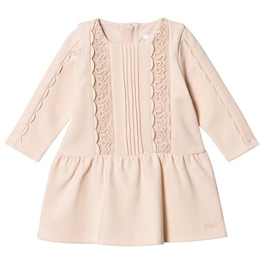 Chloé Lace Dress Pink 44B