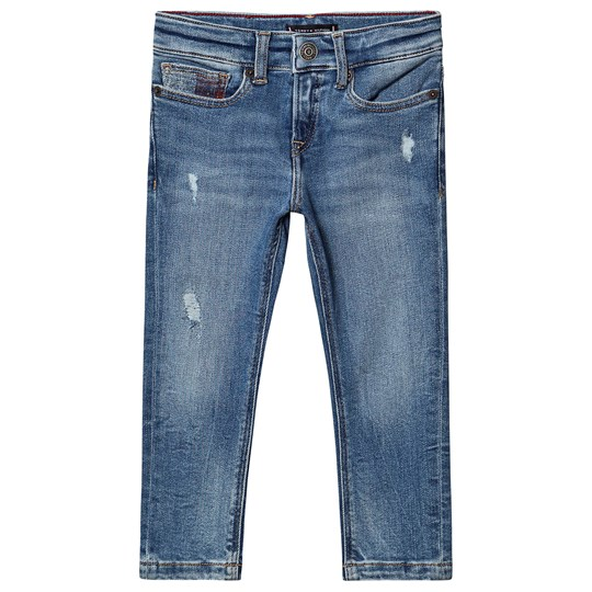 Tommy Hilfiger Steve Tapered Jeans Authentic Mid Blue 911