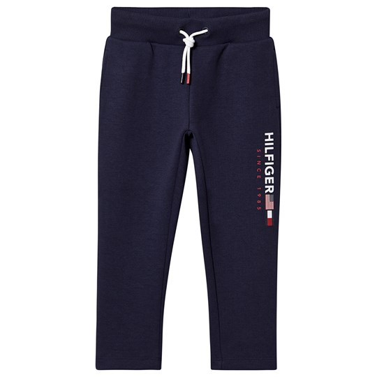 Tommy Hilfiger Branded Sweatpants Black Iris 002