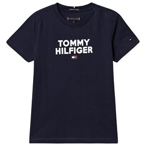 Image of Tommy Hilfiger Navy Tommy Logo T-shirt 4 years (1367492)