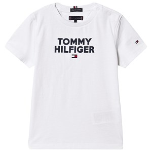 Image of Tommy Hilfiger Hvid Tommy Logo T-shirt 3 years (1367498)