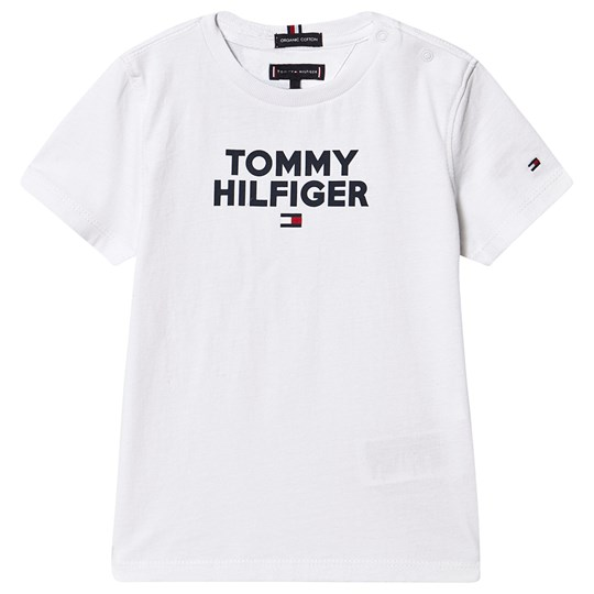 Tommy Hilfiger Branded Tee Bright White 123