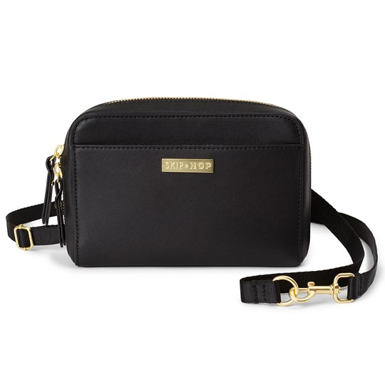 Skip Hop Greenwich Convertible Fanny Pack Black Black