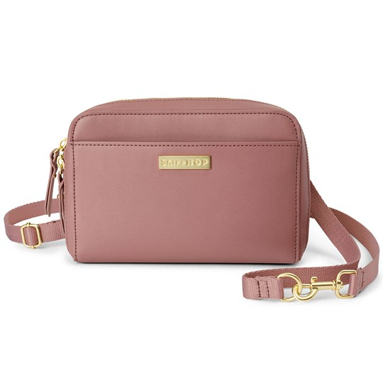 Skip Hop Greenwich Convertible Fanny Pack Dusty Rose Dusty Rose