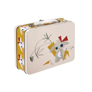 Blafre Tin Lunch Box Rabbit One Size