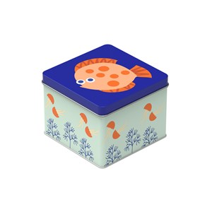 Image of Blafre Small Tin Box Sealife One Size (1434265)