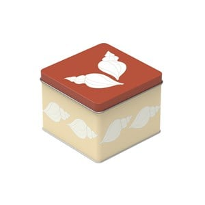 Image of Blafre Small Tin Box Shell One Size (1434266)