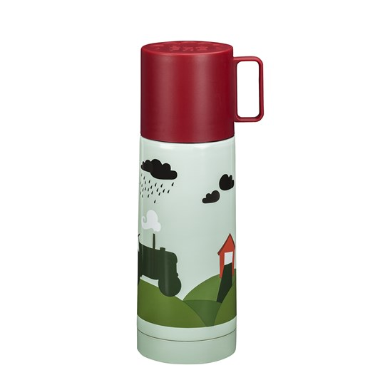 Blafre Thermos Tractor & Barn Green
