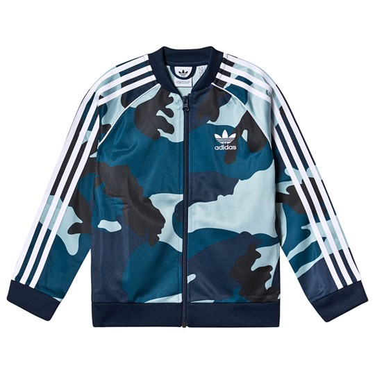 adidas Originals Multi Camo Branded Tracksuit Jacket MULTICOLOR/WHITE