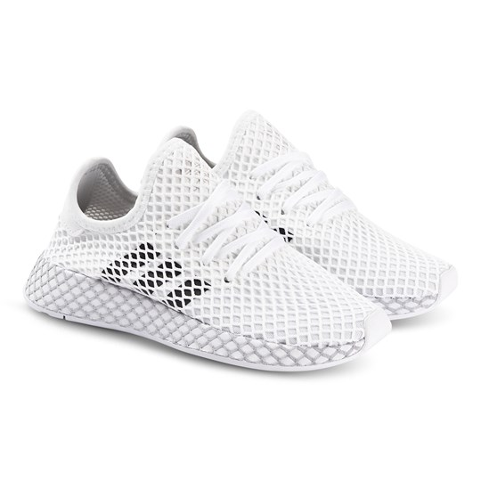 adidas Originals Deerupt Runner Sneakers White and Black ftwr white/core black/GREY TWO F17
