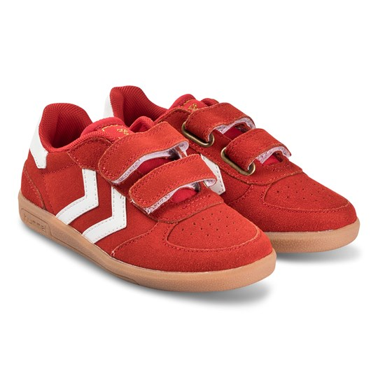 Hummel Victory Suede Sneakers Poinsettia POINSETTIA