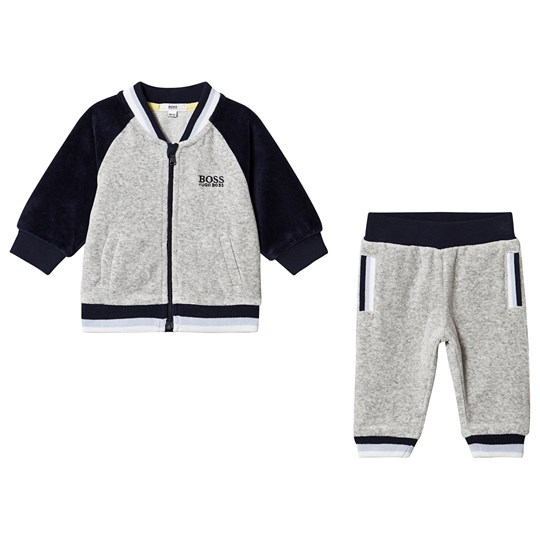 BOSS Logo Sweatsuit Grey M68