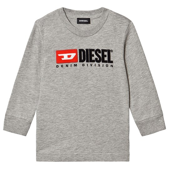 Diesel Division Long Sleeve Tee Grey K963