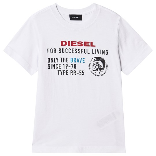 Diesel Mohican Tee White K100