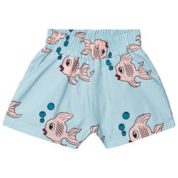 Hugo Loves Tiki Fish Summer Shorts Blå