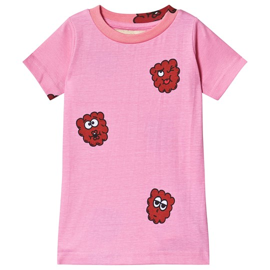 Hugo Loves Tiki Raspberry T-Shirt Pink Pink Raspberry