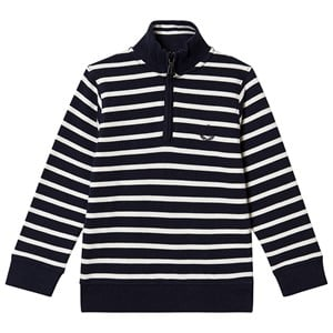 Image of Henri Lloyd Stripe Zip Sweatshirt Navy 14-15 years (1374397)