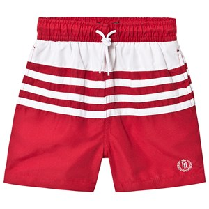 Henri Lloyd Small Logo Swim Shorts Red/White 7-8 years