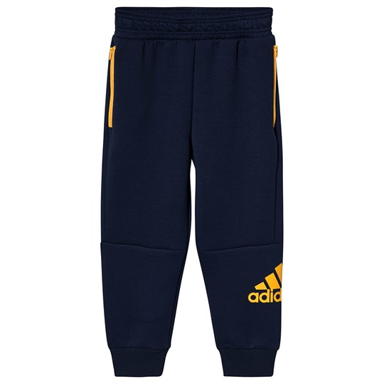 adidas Performance ID Knitted Sweatpants Navy collegiate navy/active gold