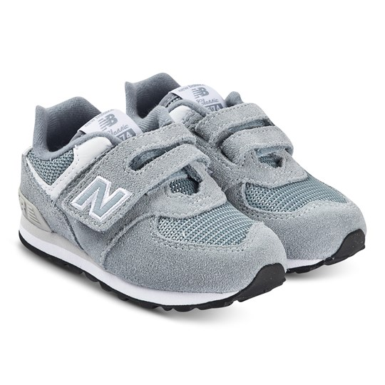 New Balance 574 Velcro Sneakers Grey REFLECTION (073)