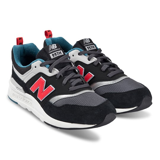 New Balance 997H Junior Sneakers Svart BLACK/RED (009)