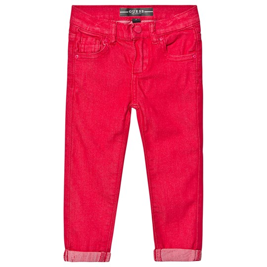 Guess Slim Jeans Red ELCR
