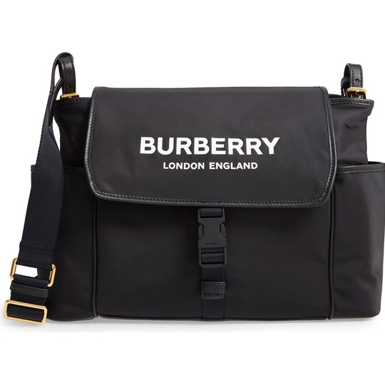 Burberry Branded Changing Bag Black A1189