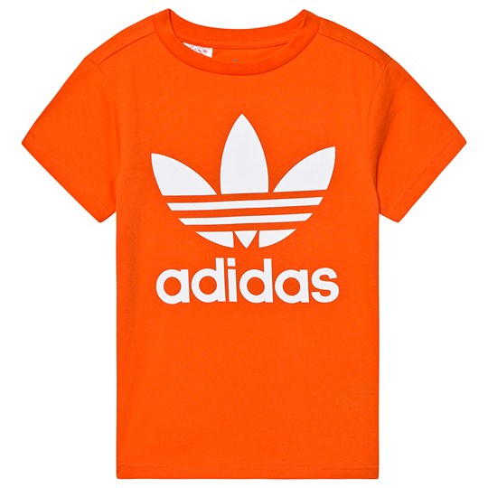 adidas Originals Trefoil Tee Orange orange/white
