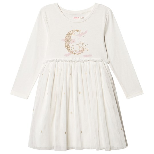 Billieblush Moon and Star Tulle Dress White 121