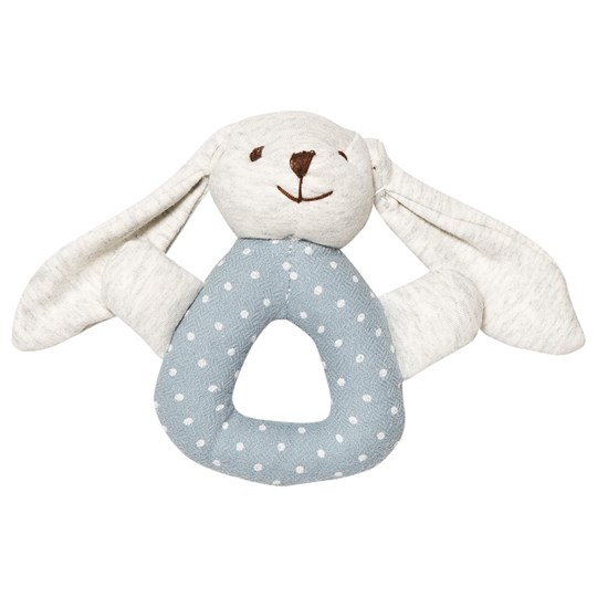STOY Baby Rattle Bunny Blå