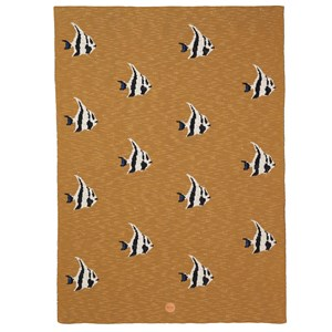 Image of ferm LIVING Stripy Fish Blanket One Size (1280522)